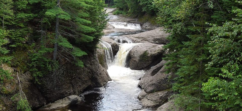 Waterfalls Near Moncton - Gordon Falls in Elign, NB