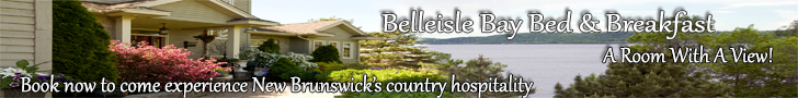 New Brunswick Bed and Breakfast belleisle bay bed and breakfast